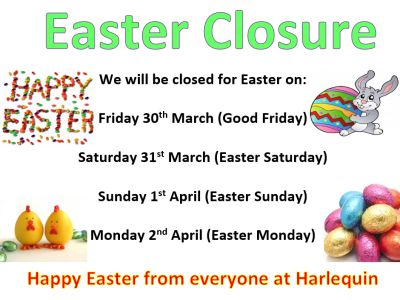 Easter 2018 closure dates